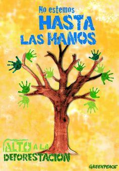 Serie de afiches de greenpeace