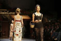 Dolce & Gabbana Spring 2016 Ready-to-Wear Atmosphere and Candid Photos - Vogue
