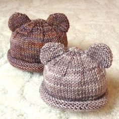 Itty Bitty Bear Cubs - Free Pattern