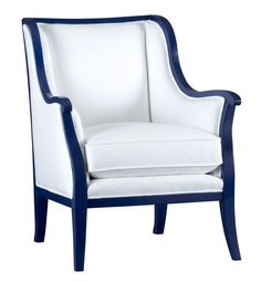 cobalt+blue+household | Carly Chair With Cobalt Blue Frame | Home Accessories