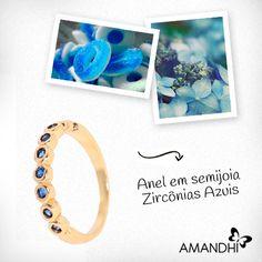 Os anéis delicados estão em alta, aposte! | Amandhí | www.amandhi.com |