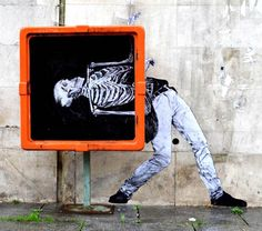 L'art des rues, c'est un peu une radiographie de notre société ! / Street art.