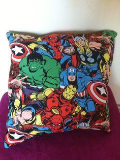 Super hero pillow