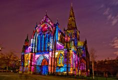 Glasgow Cathedral~Stunning Colors