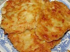 Фото к рецепту: Вкусные оладьи из курицы