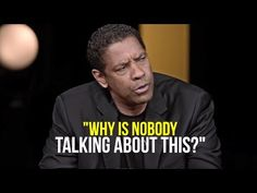 Put down your cell phone! This Will Leave You Speechless! - One of The Most Eye Opening Videos English Caption, Denzel Washington, Ted Talks, Film, Thought Provoking, Food For Thought, Self Improvement, Good To Know, Life Lessons