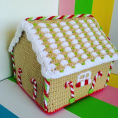 Gingerbread house by LatejedoraCL on Etsy