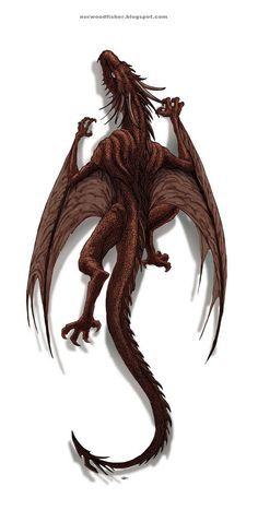 RED DRAGON TATTOO!! by octopusdesenhos.deviantart.com on @DeviantArt