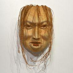 Haida Portrait Mask by Carol Young (Bagshaw), Haida artist (XN110402)