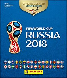 Word Cup Collectible Sticker Album Russia 2018 [word cup russia 2018 collectible stickers] Panini Edition for Latin America World Cup Russia 2018, World Cup 2018, Fifa World Cup, Football Tricks, Mens World Cup, Wedding Album Layout, Word Cup, Football Tournament, International Football
