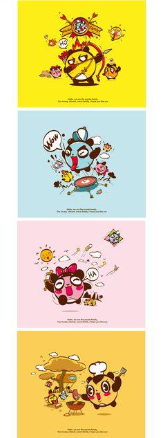 mascot,自由家齐云山风景区营地吉祥物 on Behance