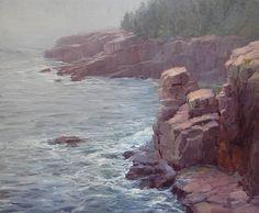 Kathleen Dunphy - Salt Air and Solitude- Oil