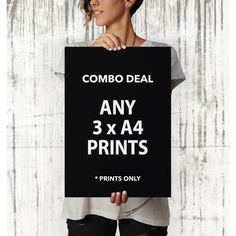 A4 Print Combo Deal