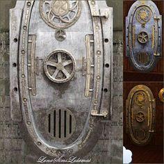 Sims 3 door glass build nautilus & Steampunk/Industrial Door | Steampunk | Pinterest | Industrial ...