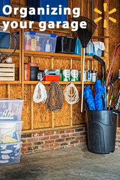 Your garage is one of the areas of your home that can get disorganized quickly, as you toss in all sorts of things that need to be stored. Pretty soon, you barely have room to park your car. Fortunately, Walmart has garage storage solutions that can help you get this crucial area into shape so that it's easy to find what you're looking for - and to park.