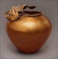 Raised Copper Bowl by Valentin Yotkov