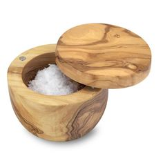 Olivewood Salt Keeper | Williams-Sonoma