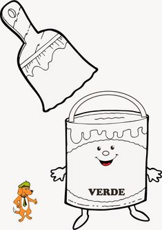 Alla scoperta dei colori. Christmas Coloring Pages, School Decorations, Christmas Colors, Snoopy, Logos, Children, Visual Arts, Print Coloring Pages, Activities
