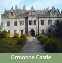Ormonde Castle -Ireland's best example of an Elizabethan Manor House.