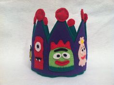 Customizable Yo Gabba Gabba Inspired Felt by SewCuteCharacters