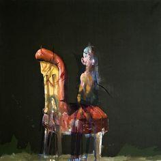 Håkon Gullvåg - Art Hakone, Edvard Munch, Trondheim, Figurative, Contemporary, Portrait, Artist, Painting, Art