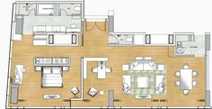 presidentual suite floor plans | PRESIDENTIAL SUITE