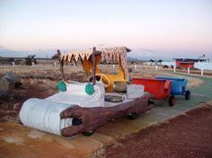 Abandoned Flintstone Park-Valle,Az(car and carts at the tourist trap of Bedrock City, AZ) Abandoned Castles, Abandoned Mansions, Abandoned Houses, Abandoned Places, Haunted Places, Abandoned Theme Parks, Abandoned Amusement Parks, Amusement Parks In Arizona, Roadside Attractions