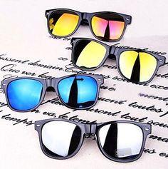 Encontrar Más Gafas de Sol Información acerca de 2015 nueva moda reflectante gafas redondas gafas de marco negro hombres mujeres gafas de sol gafas de sol 5 colores envío gratis D, alta calidad gafas de marco para los hombres, China vasos de pie Proveedores, barato vasos y la caja de lentes de contacto de Boypan store en Aliexpress.com