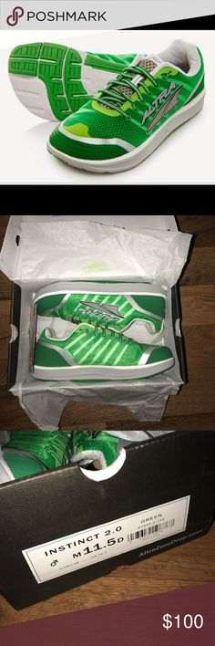 New 11.5 Altra Instinct 2 Running Jogging Shoes New Altra Shoes Athletic Shoes