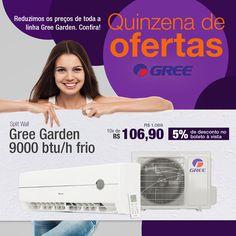 Reduzimos os preços de toda a linha Gree Garden. Confira! http://www.arclube.com.br/ar-condicionado-gree.html