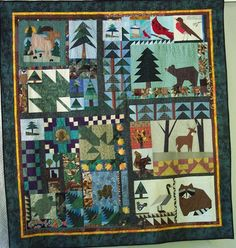 I just listed Quilted Wall Hanging:  Northwoods on The CraftStar @TheCraftStar #uniquegifts