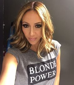Just me & a little ladder taking a selfie #rhonj #blondepower More