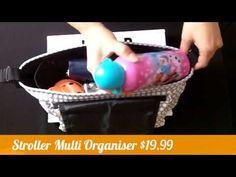 Stroller Multi Organiser – Hear Me Roar - Kids Organisers, Plastic Laundry Basket, Kids, Organisation, Young Children, Boys, Children, Kid, Children's Comics