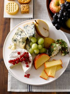 cheese plate for cocktail part after the ceremony. Set on the tables.