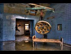 hospital abandonado.