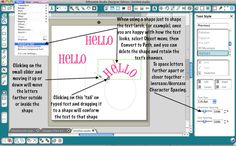Curving Text.  Doesn't lead to step by step instructions but this pic might help.  Love the idea of curving text
