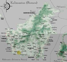 Mengenal 7 Rumpun Suku Dayak di Pulau Kalimantan Borneo, Asia, Japan, Japanese