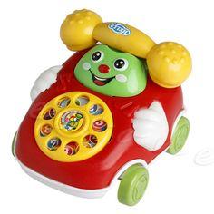 아기 장난감 음악 만화 전화 교육 발달 어린이 선물 장난감