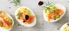 Zum Rezept für gefüllte Eier mit Räucherlachs