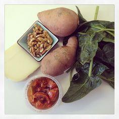 5 or less: Stamppotje van zoete aardappel en spinazie