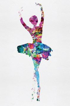 Ballerina Watercolor 1 Plastic Sign by Irina March at AllPosters.com
