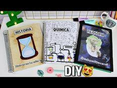 DIY CADERNOS PARA CADA MATÉRIA - HISTÓRIA, QUÍMICA E FILOSOFIA  VOLTA ÀS AULAS 2018 #2 - YouTube