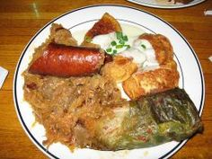 Polish food is rich and delicious and full of reminders of how life was lived in Poland over the centuries. There is something about a Polish meal that even makes a non Pole's mouth water!  Info on        many Polish foods : )