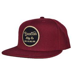 aa870f18165 Brixton - Wheeler Men s Snapback Hat