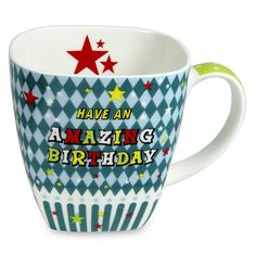 Trendy Birthday Mug Surprise your dear one in a special way on their birthday with this trendy mug.. Height : 10 cm X Length : 14 cm X width : 10 cm | Rs. 424 | Shop Now | https://hallmarkcards.co.in/collections/birthday-gifts/products/gift-for-birthday