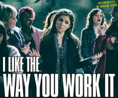 I mean… you're welcome. #TBT #PitchPerfect