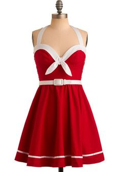 Mod cloth  help you find all kinds of cute stuff such as this dress