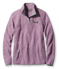 Bean's Sweater Fleece Pullover