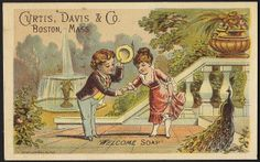 Welcome Soap - Curtis, David & Co, Boston, Mass. [front] | Flickr - Photo Sharing!