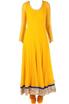 Yellow panelled kurta set available only at Pernia's Pop-Up Shop.